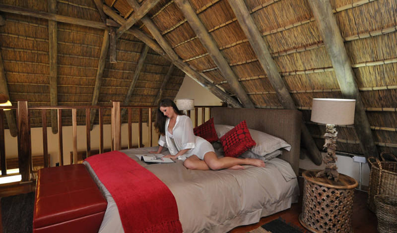 Fully Inclusive Accommodation Thatched Roof Suite